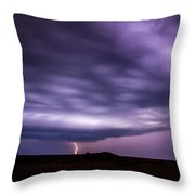 Late July Storm Chasing 033 Throw Pillow