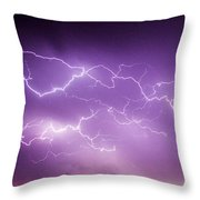 Late July Storm Chasing 082 Throw Pillow