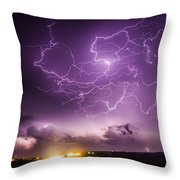 Late July Storm Chasing 088 Throw Pillow