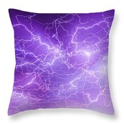 Late July Storm Chasing 089 Throw Pillow