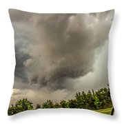 Late May Chase Day 008 Throw Pillow