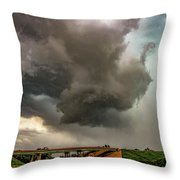 Late May Chase Day 009 Throw Pillow