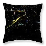 Late Night In Cuenca, Ecuador Throw Pillow