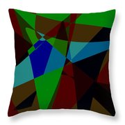 Late Party Throw Pillow