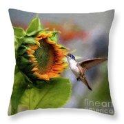 Late Spring Throw Pillow
