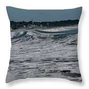 Late Summer Storm Throw Pillow