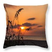 Late Sunrise 3 Throw Pillow