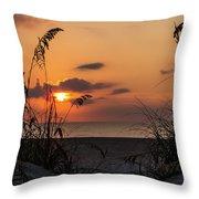 Late Sunrise Throw Pillow