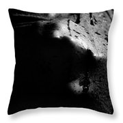Latex Alien Throw Pillow