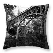 Latourell Bridge Throw Pillow