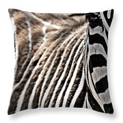 Latter Half Throw Pillow