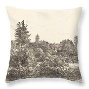 Lauban In Silesia Throw Pillow