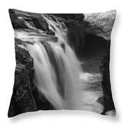 Laugafell Mountain Lodge Waterfalls Iceland 3146 Throw Pillow