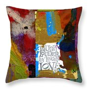 Laugh Play Love Throw Pillow