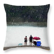 #171 Laughter In The Rain Throw Pillow