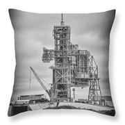 Launch Pad 39a Throw Pillow