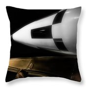 Launch Time Throw Pillow