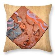 Laundrette - Tile Throw Pillow