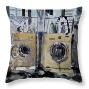 Laundry Room. Throw Pillow