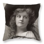 Laura Hope Crews Throw Pillow