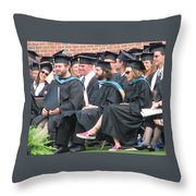 Laura's Graduation Throw Pillow