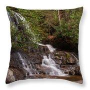 Laurel Falls Six Throw Pillow
