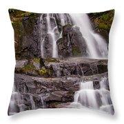 Laurel Falls Three Throw Pillow