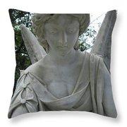 Laurel Grove Angel #1 Throw Pillow