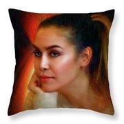 Lauren Luna Throw Pillow