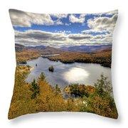 Laurentian Mountains II Throw Pillow
