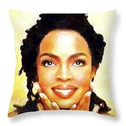 Lauryn Hill Throw Pillow