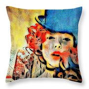 Lautrec Homage Throw Pillow