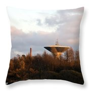 Lauttasaari Water Tower Throw Pillow