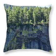 Lava Formations Throw Pillow