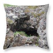 Lava  Throw Pillow