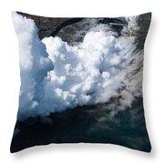 Lava, Meet Ocean 2 Throw Pillow