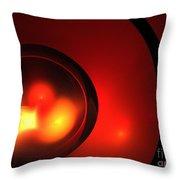 Lava Sphere Throw Pillow