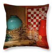 Lavender And Glass Throw Pillow