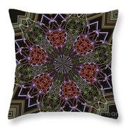 Lavender Mandala 1 Throw Pillow