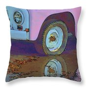 Lavender Reflections Throw Pillow