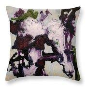Lavender Series No. 2 Throw Pillow