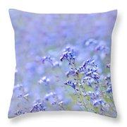 Lavender Spring Throw Pillow