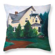 Lavern's Bed And Breakfast Throw Pillow