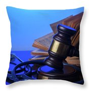 Medical Law Throw Pillow