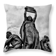 Law Prosperity And Power  Throw Pillow