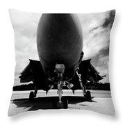 Lawn Dart F 14 Tomcat Throw Pillow