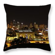 Laws And Outlaws Throw Pillow