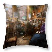 Lawyer - Always Taking Notes - 1902 Throw Pillow