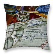 Lawyer - The Tax Attorney Throw Pillow