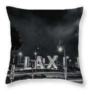 Lax Entry Throw Pillow